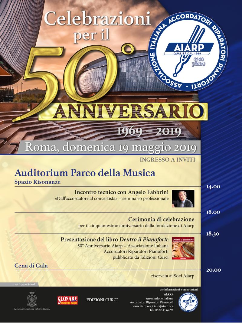 50° anniversario sito