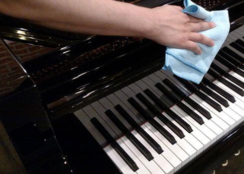 Sanificazione del pianoforte