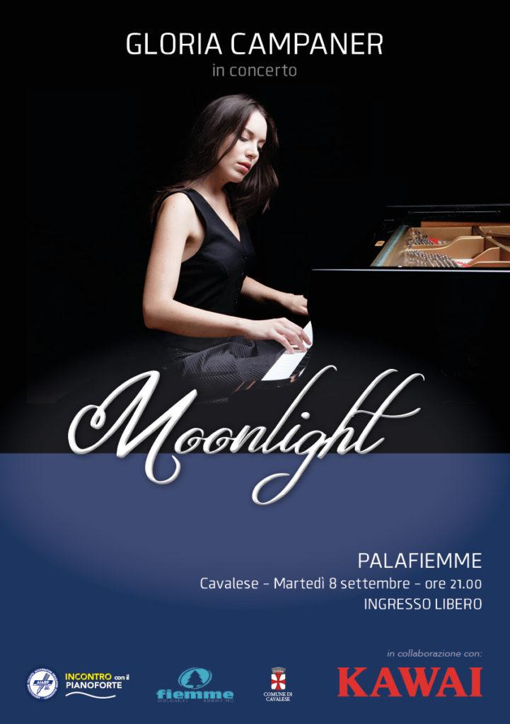 Gloria Campaner in concerto - 2020 - locandina