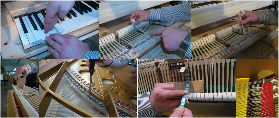 Steingraebere   Messa a punto di un pianoforte da concerto