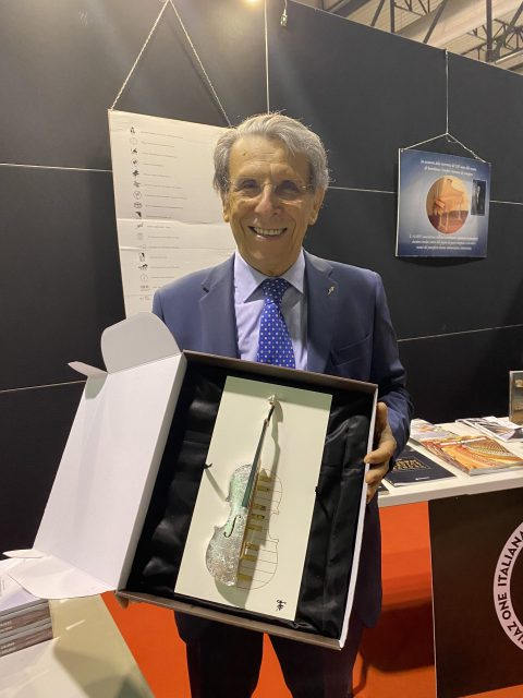 Luciano Del Rio riceve il Cremona Musica Award 2021